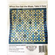 When You Get The Blues By Willyne Hammerstein of Millefiori Quilts Complete Paper Piecing Pack by Paper Pieces - Paper Pieces Kits & Templates