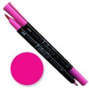 Tsukineko Fabrico  Dual Marker - Cherry Pink 115 by Tsukineko - Tsukineko Dual Tip Fabric Pens