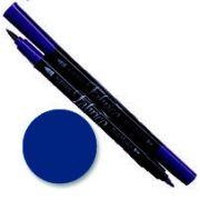 Tsukineko Fabrico Dual Marker - Ultramarine 118 by Tsukineko - Tsukineko Dual Tip Fabric Pens