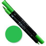 Tsukineko Fabrico Dual Marker - Spring Green 122 by Tsukineko - Tsukineko Dual Tip Fabric Pens