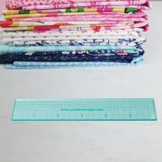 """Sue Daley 6"""" Ruler by Patchwork with BusyFingers Sue Daley EPP Notions - OzQuilts"""