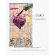 Vino Collage Pattern by Laura Heine by Fiberworks Collage  - OzQuilts