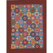 Lucky Stars Template Set from Millefiori Quilts 3- Halo Set in Original Size by OzQuilts Millefiori Book 3  - OzQuilts