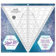 Star 60 Ruler - 60 degree wedge tool by  Wedge Rulers - OzQuilts