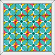 Alabama Beauty Block Template Set by OzQuilts - OzQuilts Templates