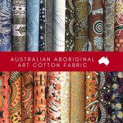 Aboriginal Art Fabric 20 Fat Quarter Bundle L by M & S Textiles - Fat Quarter Packs