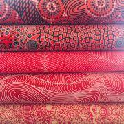 Aboriginal Art Fabric 20 Fat Quarter Bundle H by M & S Textiles Fat Quarter Packs - OzQuilts