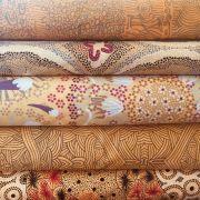 Aboriginal Art Fabric 20 Fat Quarter Bundle F by M & S Textiles Fat Quarter Packs - OzQuilts