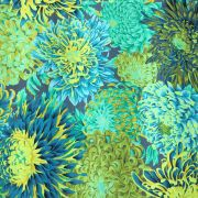 Japanese Chrysanthemum - Forest by The Kaffe Fassett Collective - Japanese Chrysanthemum