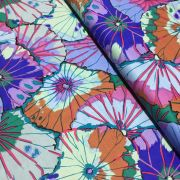 Lotus Leaf - Blue by The Kaffe Fassett Collective - Lotus Leaf