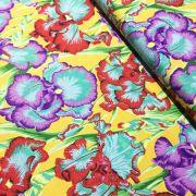 Bearded Iris - Ochre by The Kaffe Fassett Collective - Bearded Iris