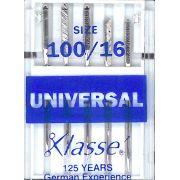 Klasse Universal Machine Needles Size 100/16 by Klasse Sewing Machines Needles - OzQuilts