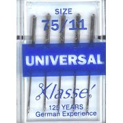 Klasse Universal, Machine Needles Size 75/11 by Klasse - Machines Needles