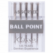 Klasse Ball Point Machine Needles Assorted Sizes by Klasse - Sewing Machines Needles