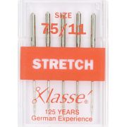 Klasse Stretch Machine Needles Size 75/11 by Klasse - Machines Needles
