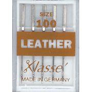 Klasse Leather Machine Needles Size 100/16 by Klasse - Machines Needles