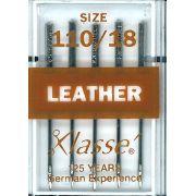 Klasse Leather Machine Needles Size 110/18 by Klasse - Machines Needles