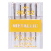 Klasse Metallic Embroidery Machine Needles Size 80/12 by Klasse - Machines Needles