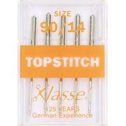 Klasse TopStitch Machine Needles Size 90/14 by Klasse - Machines Needles