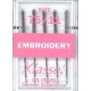 Klasse Embroidery Machine Needles Size 75/11 by Klasse - Machines Needles