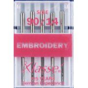 Klasse Embroidery Machine Needles 90/14 by Klasse - Machines Needles