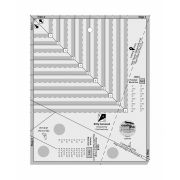 Kitty Cornered Ruler by Creative Grids by  Specialty Rulers - OzQuilts