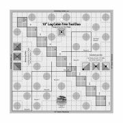 Creative Grids 10in Log Cabin Trim Tool Duo by Creative Grids Log Cabin & Pineapple Rulers - OzQuilts