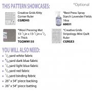 Liberty Runner Cut Loose Press Pattern by Cut Loose Press Patterns - Quilt Patterns