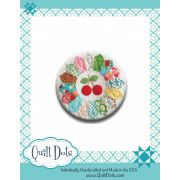 Needle Nanny - Lori Holt Sew Cherry by Quilt Dots Needle Nannies - OzQuilts