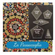 """La Passacaglia Template Set from Millefiori Quilts - Traditional Set in 2½"""" Size by OzQuilts by  Millefiori Book 1 & Templates - OzQuilts"""