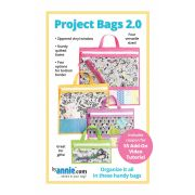 Project Bags Pattern 2.0 by Annie Unrein by ByAnnie - Bag Patterns