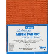 "Lightweight Mesh Fabric By Annie  18"" x 54"" Pumpkin by ByAnnie - Fabric Mesh, Vinyl & Strapping"