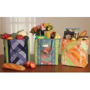 June Tailor Quilt As You Go Sew by Number Totes - Utility Shoppers Set of 3 totes by June Tailor - Kits