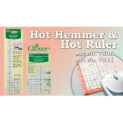 Clover Hot Hemmer -Long -Imperial Measurements by  - Irons & Pressing