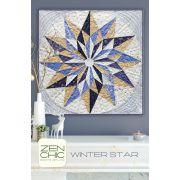 Winter Star Quilt Pattern by Zen Chic by Zen Chic - Quilt Patterns