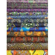 Aboriginal Art Fabric 26 Fat Quarter Bundle - September 2020 Collection by M & S Textiles Fat Quarter Packs - OzQuilts