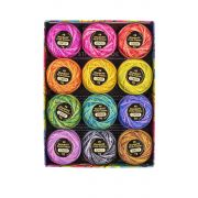 Eleganza Perle 8 Cotton Thread Alison Glass Collection - Stars (Variegated) by  - Eleganza 8wt Alison Glass