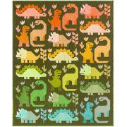 Dinosaurs Quilt Kit by Elizabeth Hartman - includes Pattern, Fabric & Binding by Elizabeth Hartman - Kits