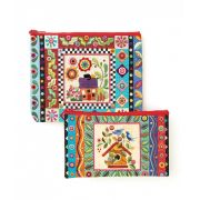 Colourful Creatures Eco Pouch Set by C&T Publishing - Organisers