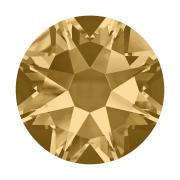 Swarovski Hotfix Flatback Crystals Light Colorado Topaz SS10 by Swarovski - Stone Size SS10 & SS12 (2.8-3.2mm)