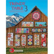Trendy Table 3 : 15 designs for runners and toppers by Anka's Treasures - Quilt Books