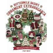 Buttermilk Basin Ornament Extravaganza by Martingale & Company - Christmas