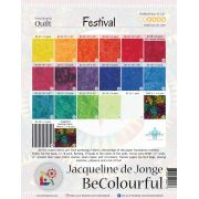 Festival Pattern & Foundation Papers by Jacqueline de Jongue by BeColourful Quilts by Jacqueline de Jongue BeColourful - Jacqueline de Jongue - OzQuilts