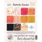Butterfly Garden Pattern & Foundation Papers by Jacqueline de Jongue by BeColourful Quilts by Jacqueline de Jongue BeColourful - Jacqueline de Jongue - OzQuilts