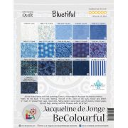 Bluetiful Pattern & Foundation Papers by Jacqueline de Jongue by BeColourful Quilts by Jacqueline de Jongue BeColourful - Jacqueline de Jongue - OzQuilts