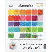 Summertime Pattern & Foundation Papers by Jacqueline de Jongue by BeColourful Quilts by Jacqueline de Jongue BeColourful - Jacqueline de Jongue - OzQuilts