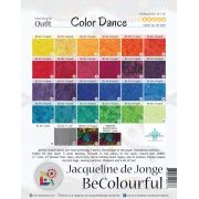 Color Dance Pattern & Foundation Papers by Jacqueline de Jongue by BeColourful Quilts by Jacqueline de Jongue BeColourful - Jacqueline de Jongue - OzQuilts