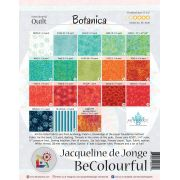 Botanica Pattern & Foundation Papers by Jacqueline de Jongue by BeColourful Quilts by Jacqueline de Jongue BeColourful - Jacqueline de Jongue - OzQuilts