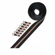 Metallic Zipper Tape Pack in Rose Gold - 2 1/2 yards (228cm) by Decorating Diva Zipper By the Yard - OzQuilts
