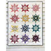 Paper Piecing Pack For Brimfield Blooming Star Quilt - (No Pattern) by Paper Pieces - Paper Pieces Kits & Templates